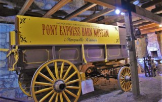 The Pony Express Barn Museum is the oldest remaining structure that served as a way station during the short-lived venture.