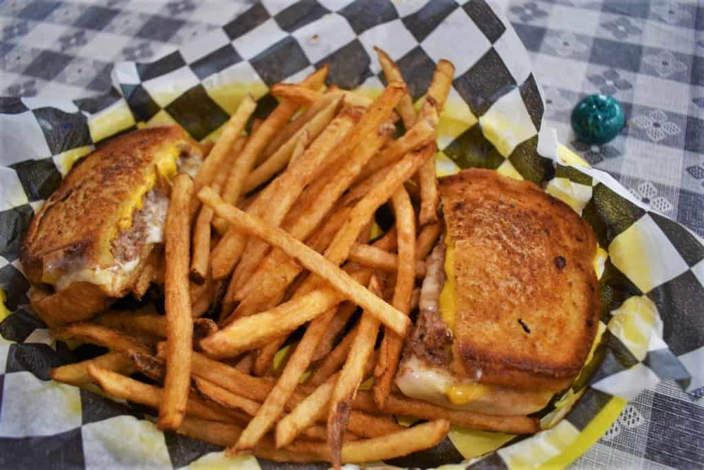 The Dorothy Melt is a great tasting sandwich that pays homage to the Land of Oz.