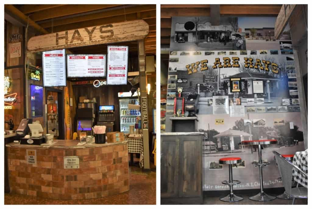 You will find plenty of history at Tiger Burgers in Hays, Kansas.