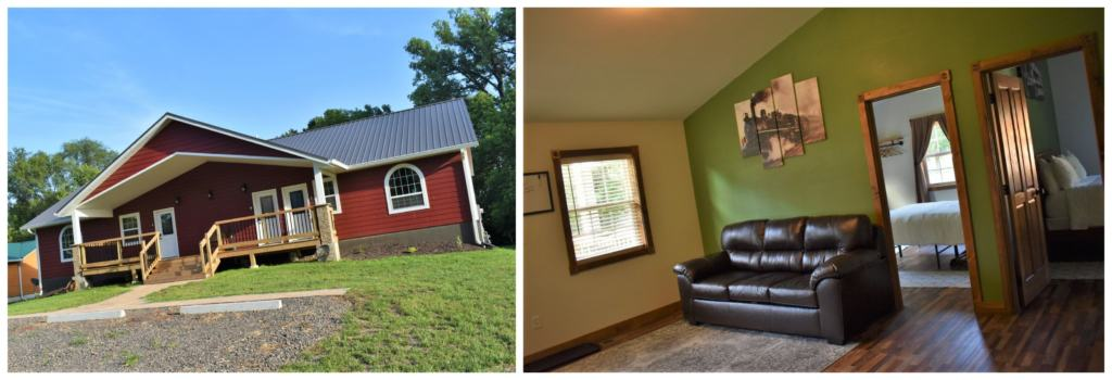 There are lots of lodging options in Marysville including Trailhead Suites.