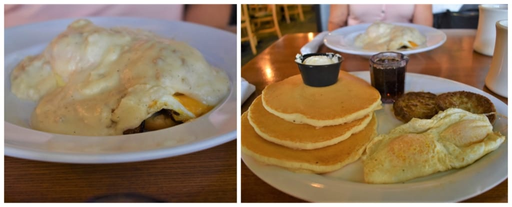 We were starting our engines with these protein packed dishes at Thunder Road Grill.