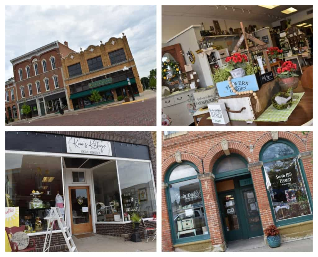 A variety of boutique style shops can be found in downtown Marysville.