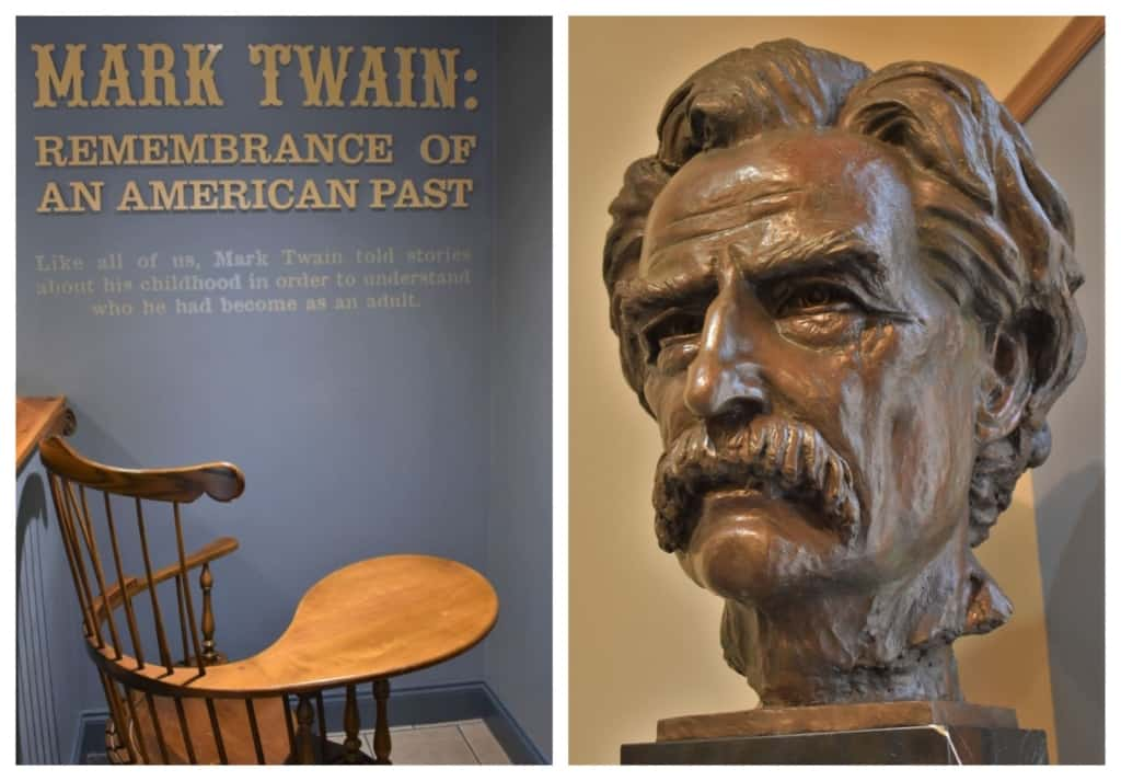 Mark Twain was a man of many names, which we discovered during a visit to the Mark Twain Boyhood Home & Museum.