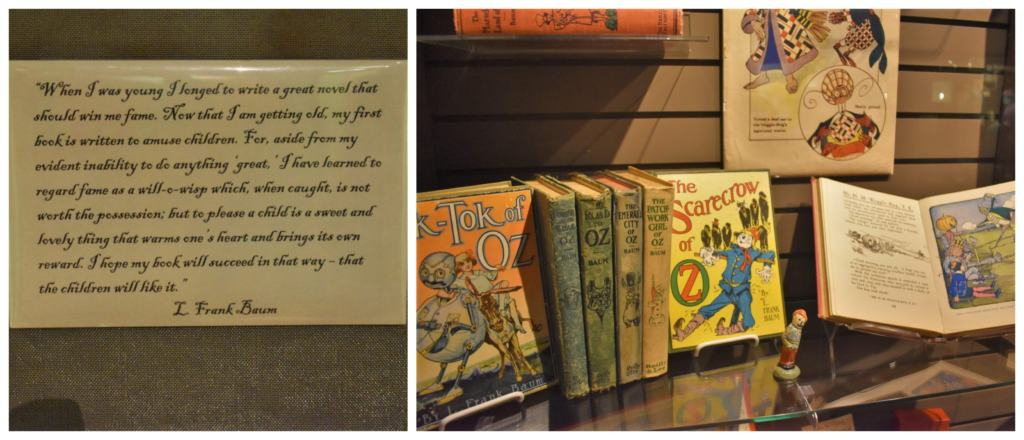 L. Frank Baum wrote an entire series about the land of Oz.
