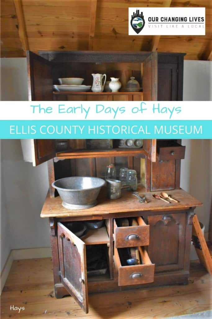 Early Days of Hays-Ellis County Historical Museum-Hays, Kansas-history-German emigrants-frontier town