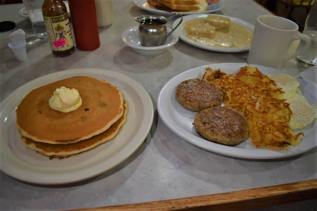 Pheasant Run Pancake House offers some delicious choices for flavoring your pancakes.