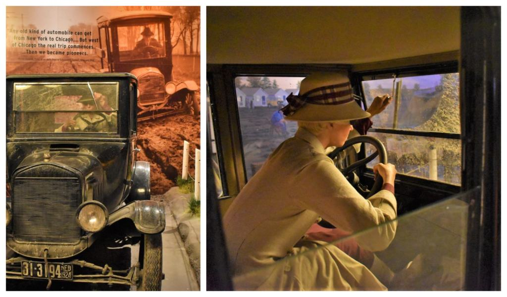 Early automobile travel had plenty of inconveniences to be handled.