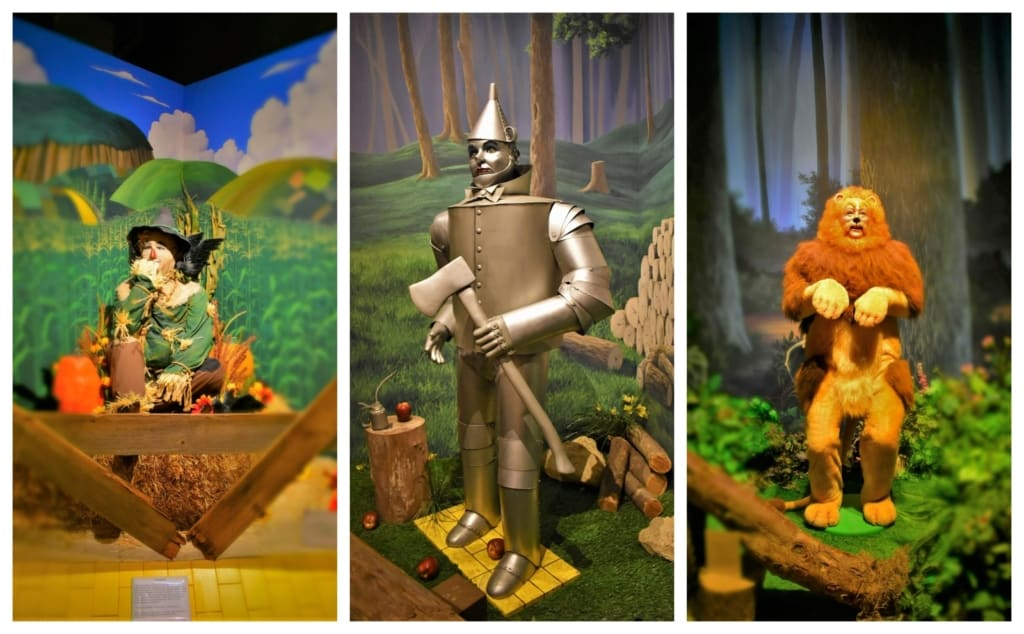 The supporting characters are well represented at the Oz Museum.