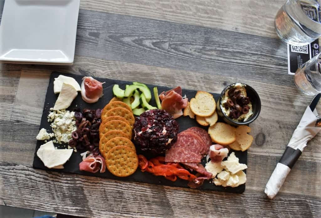 The Brew Boards are an assortment of charcuterie boards that feature a nice variety of tastes.
