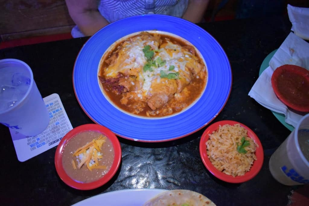 A meal of Texas Tamales is more food than we expected it to be.