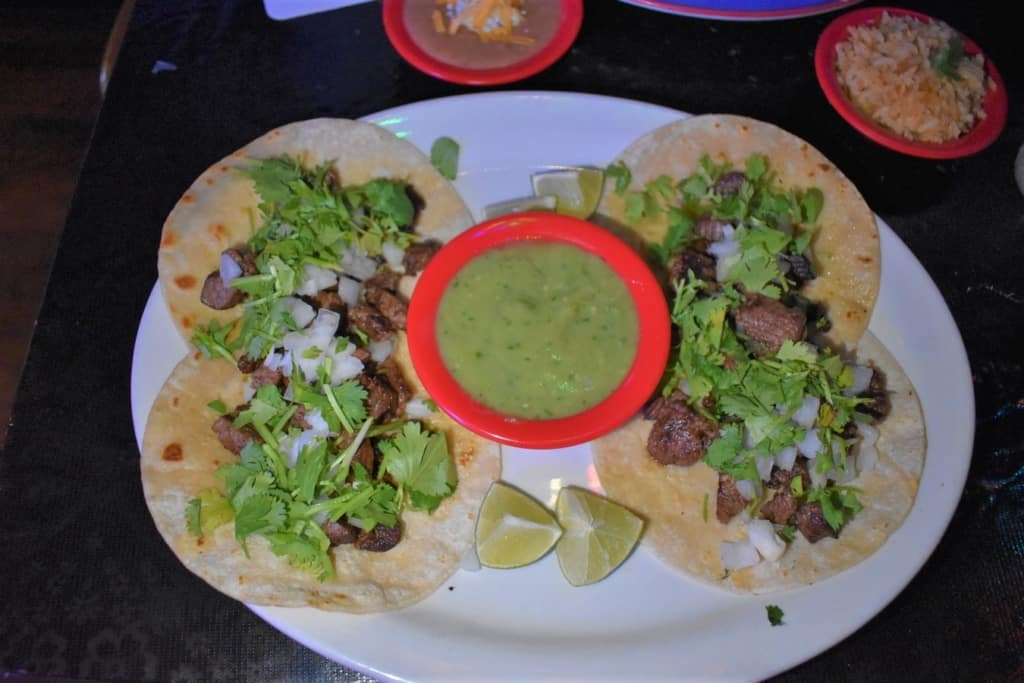 I loved the flavor of the street tacos that they served up at Drunken Taco.