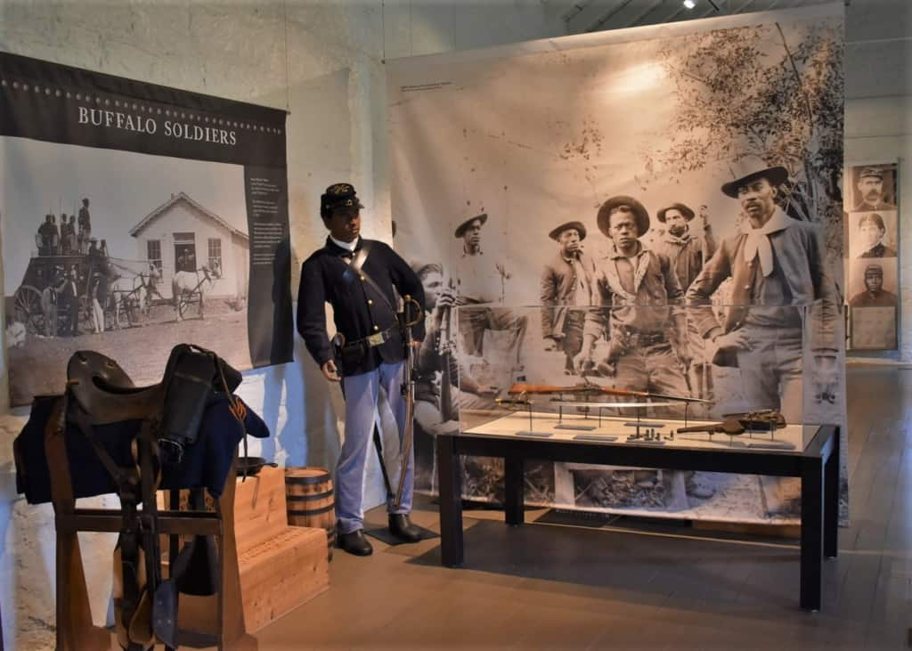 Fort Hays was temporary home to an assignment of Buffalo Soldiers.