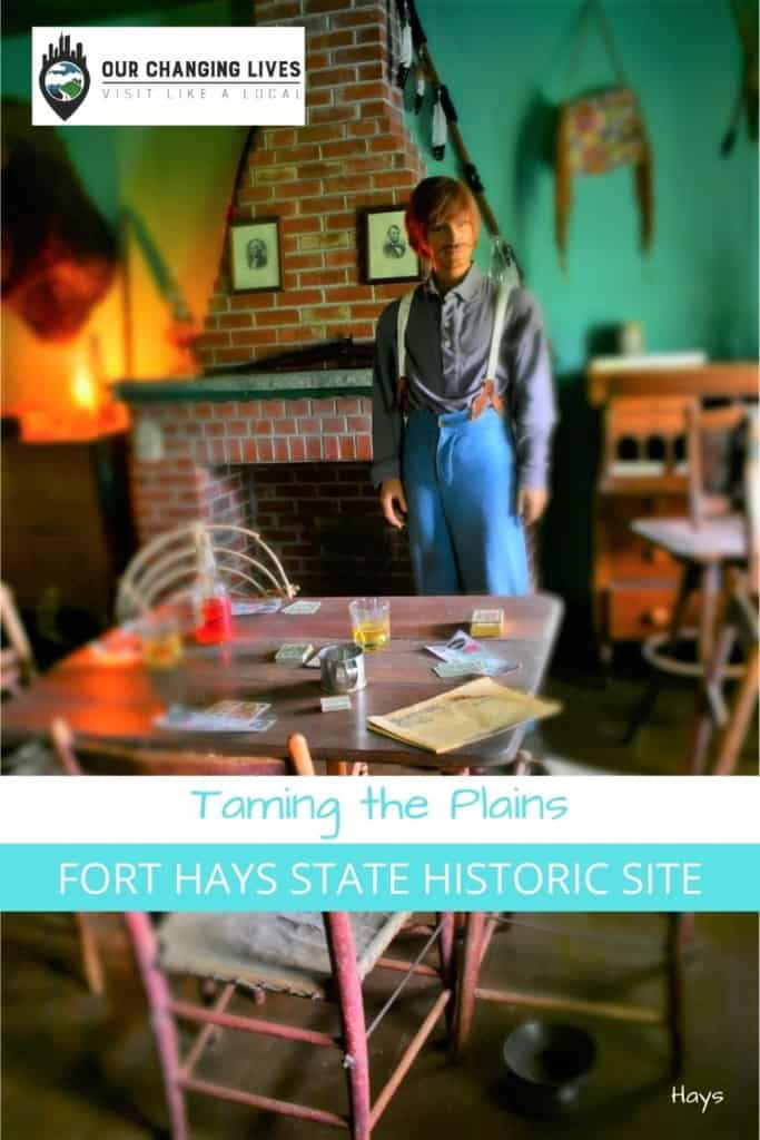 Taming the Plains-Fort Hays State Historic Site-frontier life-soldiers-Indian Wars-Black Kettle- George Custer