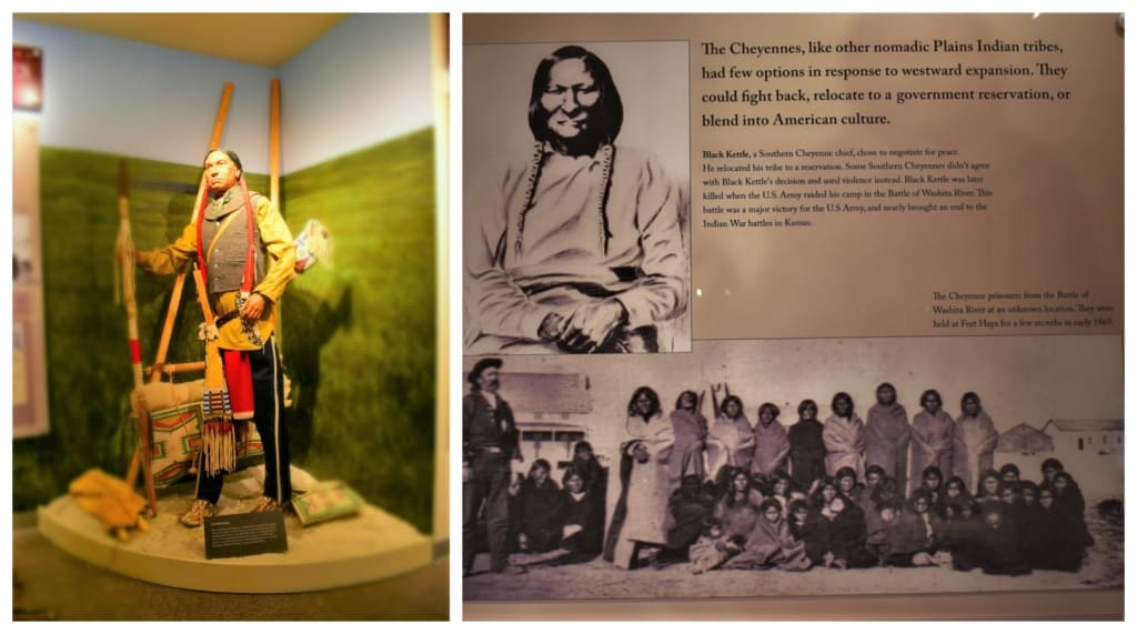 Black Kettle was a Cheyenne chief who tried to make peace with the white man.