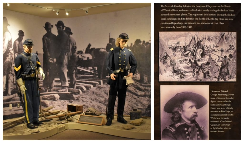 George Custer is one of the infamous characters who spent time stationed at Fort Hays.
