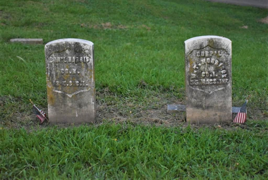 Two gravestones hold some of the hidden history that makes Hannibal an interesting destination.