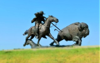 Buffalo Bill was one of the bigger than life characters we discovered when we were hunting history in Oakley, Kansas.