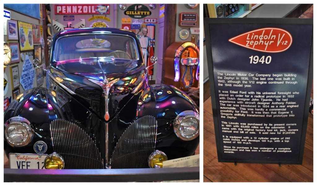 Karlock's Kars is a collection of classic vehicles and artifacts that remind us of the golden age of highway travel.