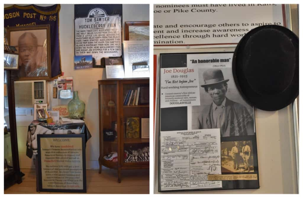 The Huck Finn Freedom Center is focused on showing the difficulties that African-slaves faced in Hannibal.