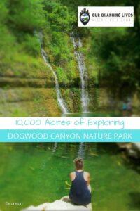 Dogwood canyon Nature Park-Branson, Missouri-10,000 acres of Exploring-waterfalls-trout-hiking-biking-trails-Bass pro
