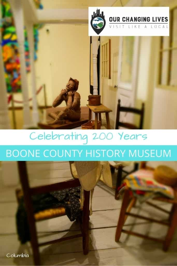 Boone County History Museum-Celebrating 200 years-suffrage-19th Amendment-Daniel Boone