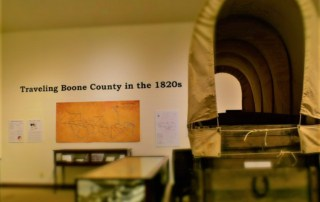 We enjoyed exploring the exhibits at the Boone County History Museum.