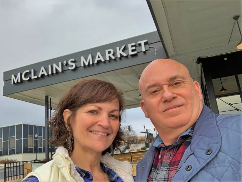 The authors found lots of flavorsome finger foods during their first visit to McLain's Market in Shawnee, Kansas.