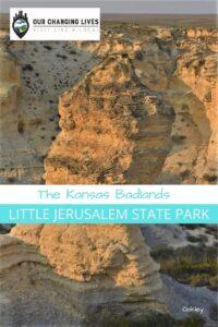 Kansas Badlands-Oakley Kansas-Little Jerusalem State Park-natural wonders-chalk formations