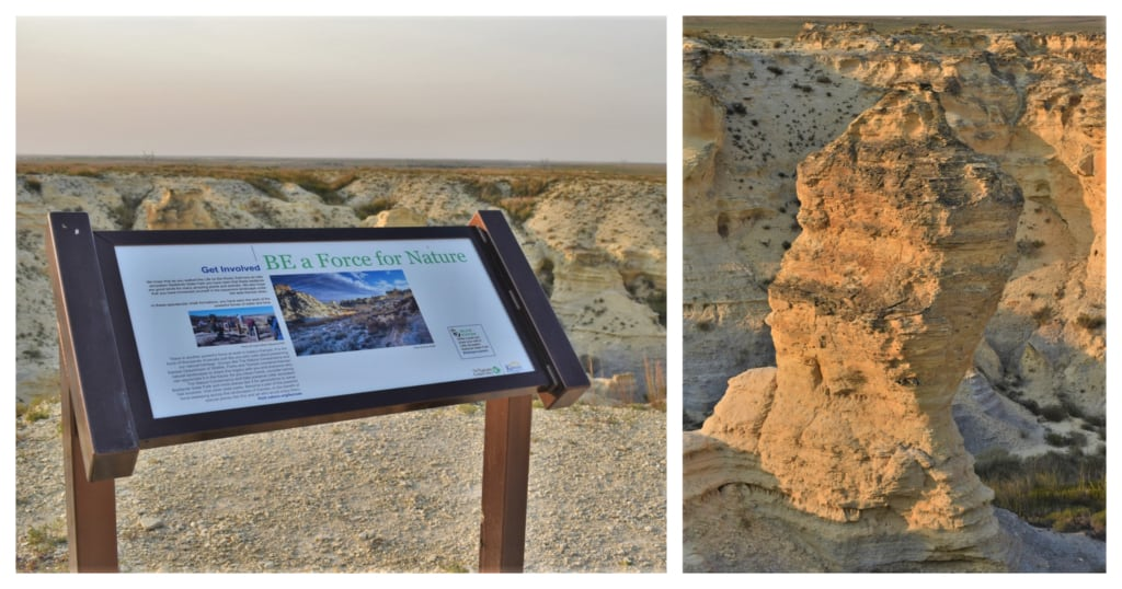 Time and natural forces have carved the Kansas Badlands into some of the most amazing shapes.