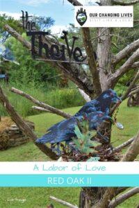 Red Oak II-a labor of love-Lowell Davis-artist-Carthage, Missouri-Route 66