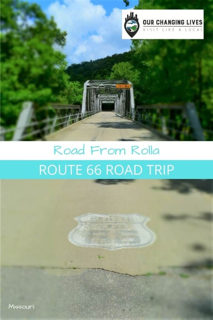 Route 66 road trip-road from Rolla-Mother Road-Route 66-road trips-travel-pandemic travel