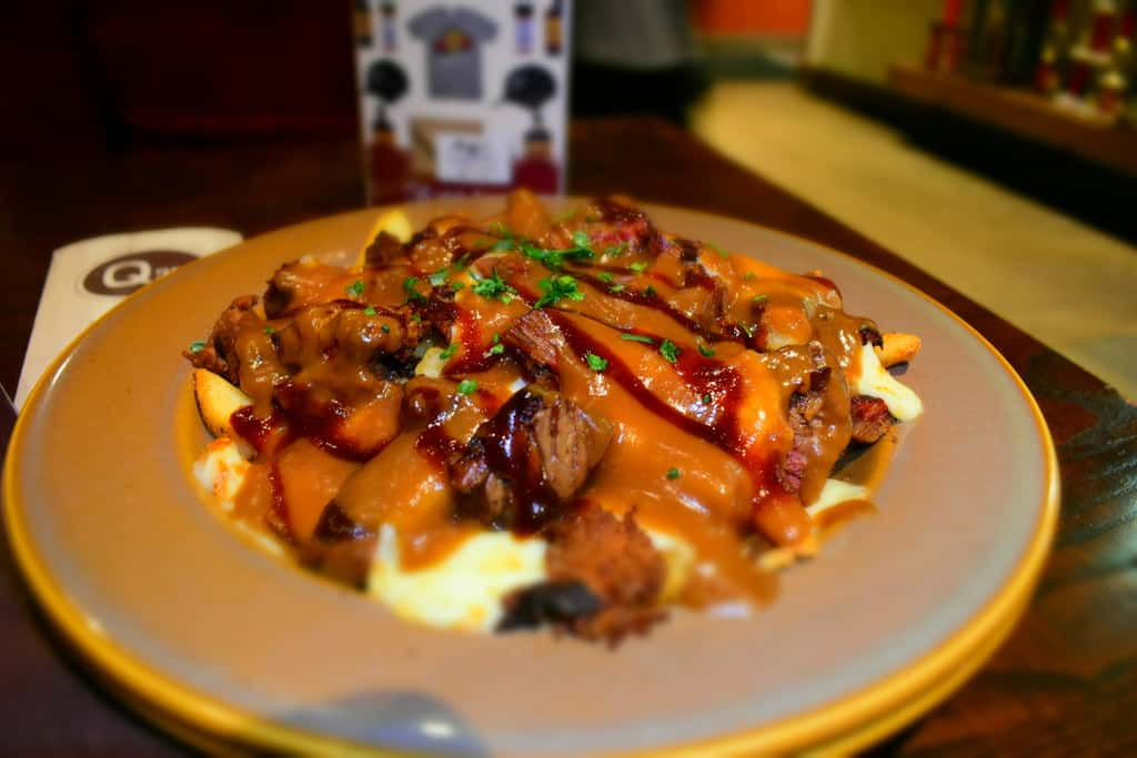 Q39 is breaking the bbq barrierwith unique dishes like barbecue poutine.