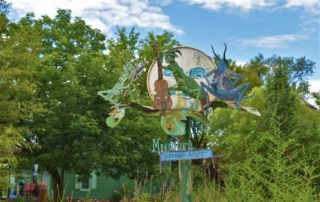A visit to red Oak II will offer a chance to see some of the whimsical creations of Lowell Davis.