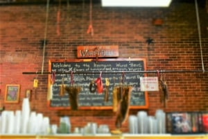 Hermann, Missouri is a great destination for wine and wurst lovers.
