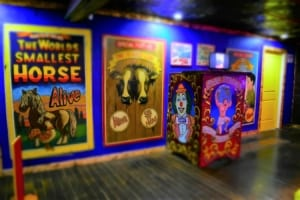 The Uranus Sideshow Museum is a throwback to carnival days of the early 1900s.