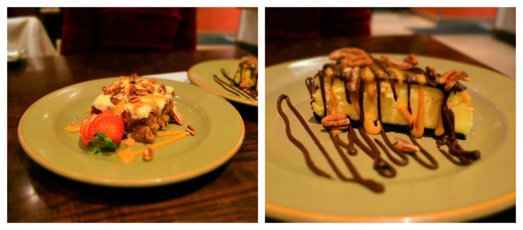 The sweet endings make a meal at Q39 extra special.
