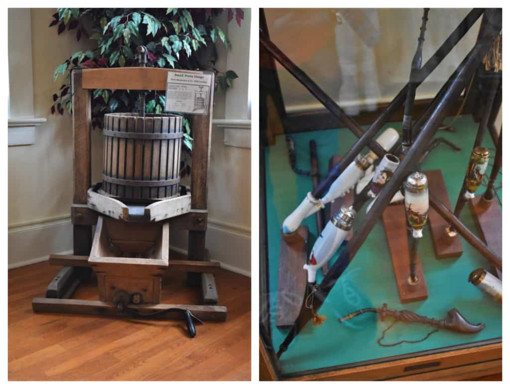 The Hermann Heritage Museum holds a collection of German culture artifacts that help tell the story of the people who founded Hermann.