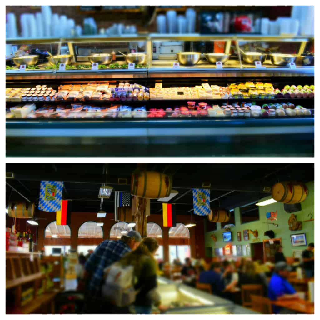 The Wurst Haus is a great place to pick up all of your picnic needs.