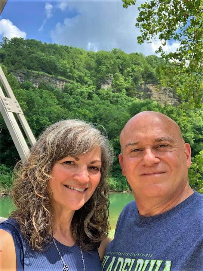The authors enjoy the natural beauty found along the backroads in central Missouri.