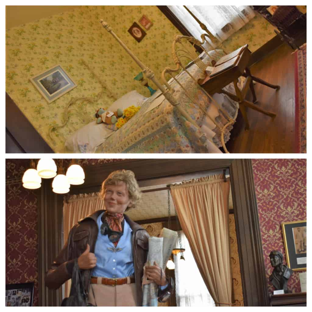 Amelia Earhart is the most famous celebrity to have called Atchison home.