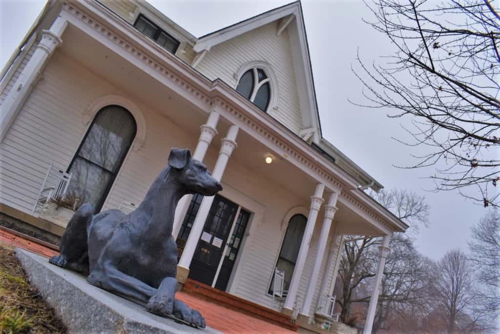 The beautiful house that was the birthplace of Amelia Earhart is available for tours.