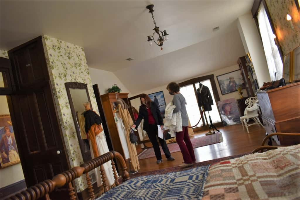 You can tour the Amelia Earhart Birthplace Museum in Atchison, Kansas.