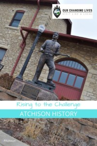 Rising to the Challenge-Atchison history-Atchison, Kansas-Lincoln Kittens-Jesse Stone-Will Boular