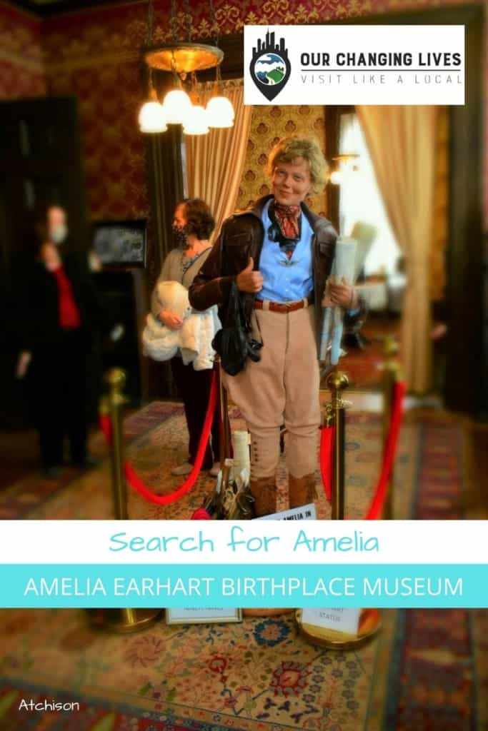 Search for Amelia-Amelia Earhart Birthplace-museum- history-female aviator-flying-aviation