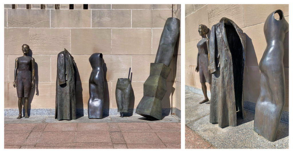 The Nelson-Atkins out door art galleries have some beautiful sculptures.