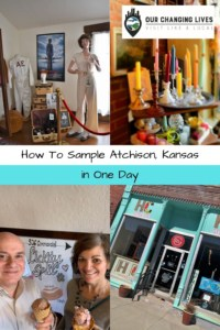 How to sample Atchison Kansas in one day-Kansas history-Amelia Earhart-boutique shops-dining