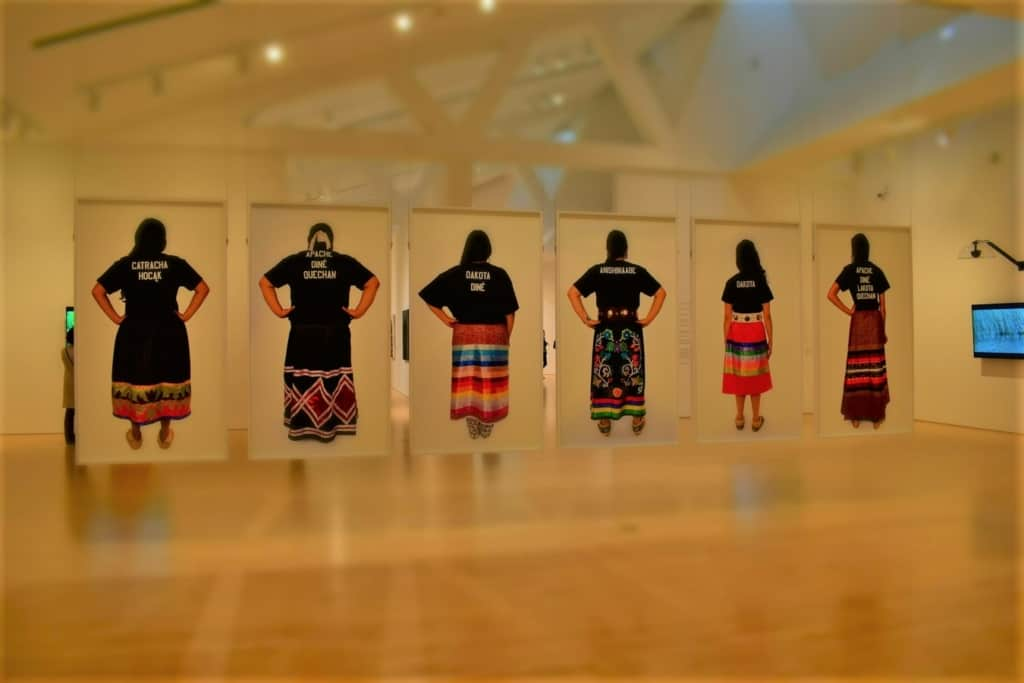 An exhibit at the Kemper Museum highlights the struggles of native American women.