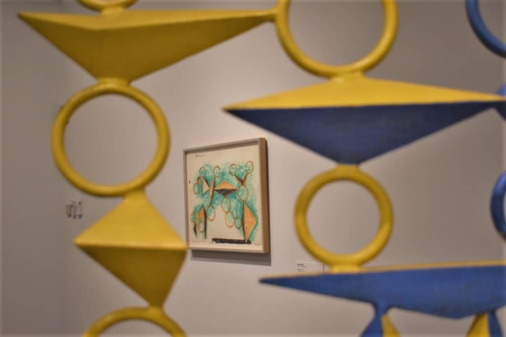 Modern artwork can be found in the various galleries at the Kemper Museum.