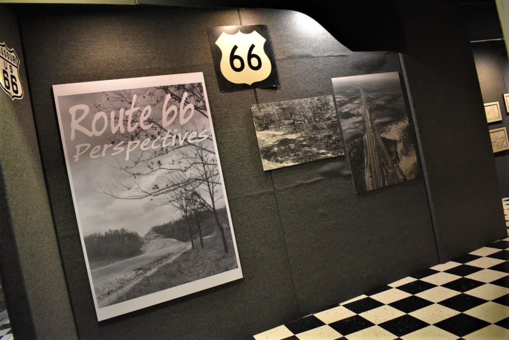 The Route 66 Museum in Lebanon, Missouri offers a unique perspective of one of America's greatest roadways.