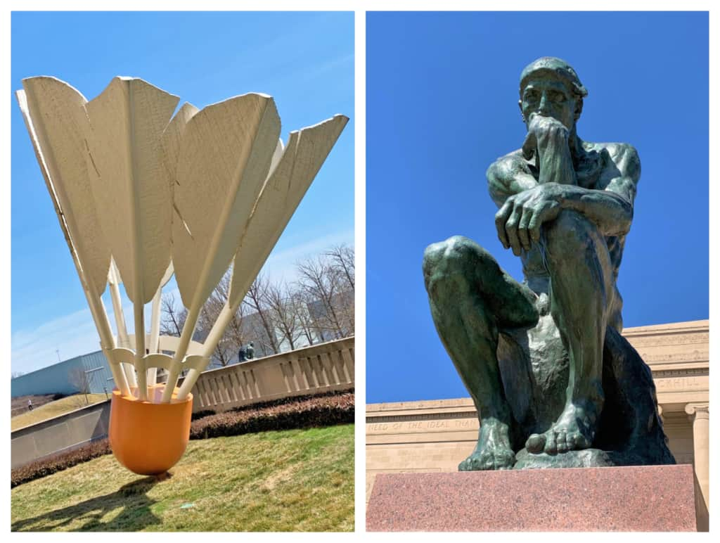 Familiar artwork can be found at the Nelson-Atkins Museum.